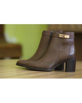 Дамски ежедневни боти кафяви 50612 в online магазин Fashionzona