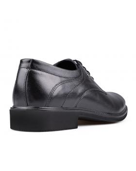 Черни мъжки елегантни обувки Honorato в online магазин Fashionzona