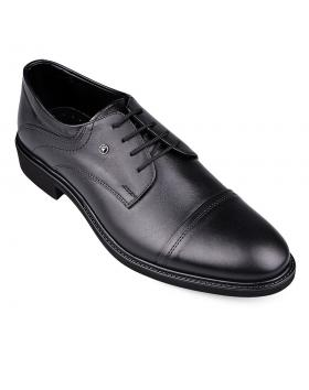 Черни мъжки елегантни обувки Arlando в online магазин Fashionzona