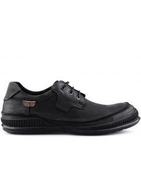 Черни мъжки ежедневни обувки 0125996 в online магазин Fashionzona
