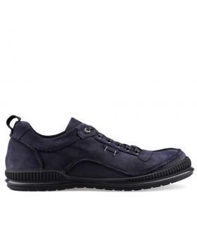 Сини мъжки ежедневни обувки 0125995 в online магазин Fashionzona