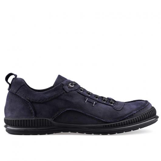 Сини мъжки ежедневни обувки Hernandez