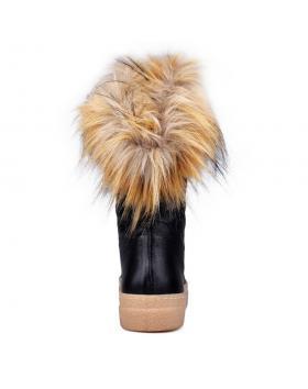 Черни дамски ежедневни боти 0132788 в online магазин Fashionzona