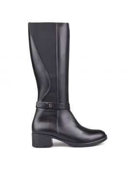 Дамски ежедневни ботуши черни с топъл хастар 0132768 в online магазин Fashionzona