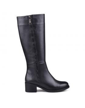Черни дамски ежедневни ботуши Ottalia в online магазин Fashionzona
