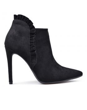 Дамски елегантни боти черни 0132368 в online магазин Fashionzona