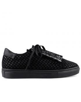 Черни дамски ежедневни обувки 0126067 в online магазин Fashionzona