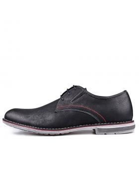 Черни мъжки ежедневни обувки 0131689 в online магазин Fashionzona