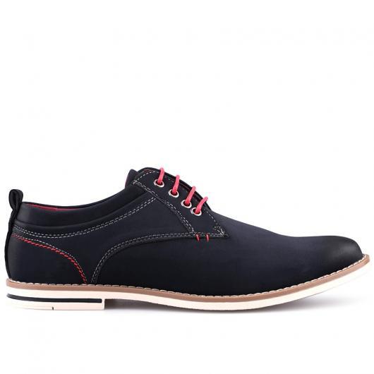 Тъмносини мъжки ежедневни обувки Jonas