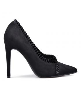 Дамски елегантни обувки черни 0132366 в online магазин Fashionzona