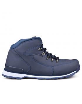 Сини мъжки ежедневни боти 0131710 в online магазин Fashionzona