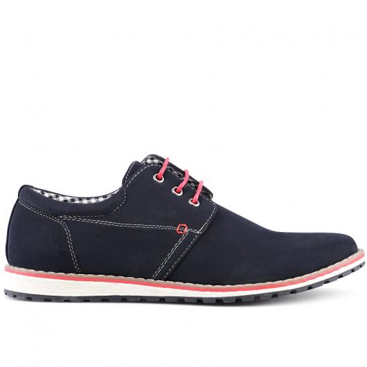 Тъмносини мъжки ежедневни обувки Matro
