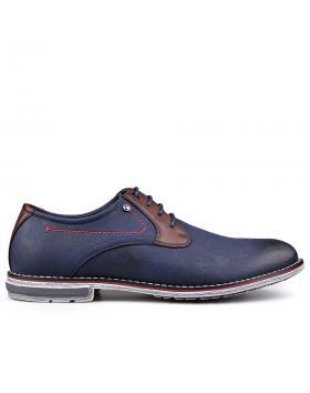 Мъжки ежедневни обувки сини 0131690 в online магазин Fashionzona