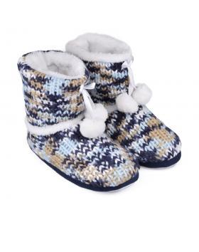 Дамски пантофи шарени 0132132 в online магазин Fashionzona
