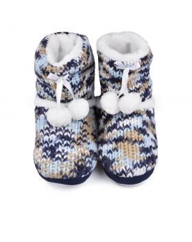 Дамски пантофи шарени Deana в online магазин Fashionzona