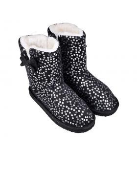 Дамски пантофи черни 0132112 в online магазин Fashionzona