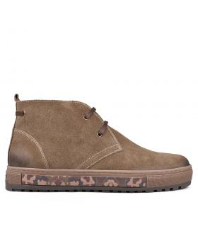 Мъжки ежедневни боти кафяви 0132823 в online магазин Fashionzona