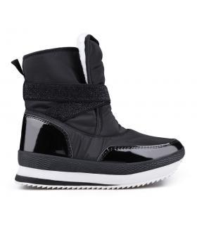 Дамски апрески черни с топъл хастар 0132356 в online магазин Fashionzona