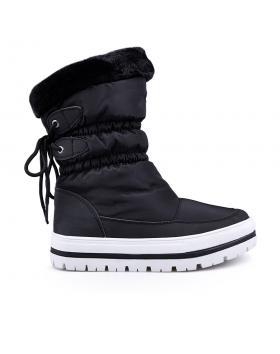 Дамски апрески черни с топъл хастар 0132357 в online магазин Fashionzona