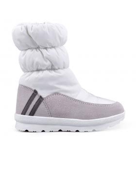 Бели дамски апрески с топъл хастар 0132355 в online магазин Fashionzona