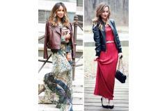 Стилни идеи за носене на любимата макси рокля