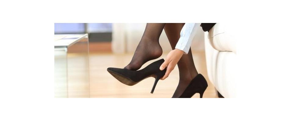 Как да разширим тесни обувки