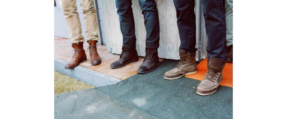 Избор на материи при мъжките обувки